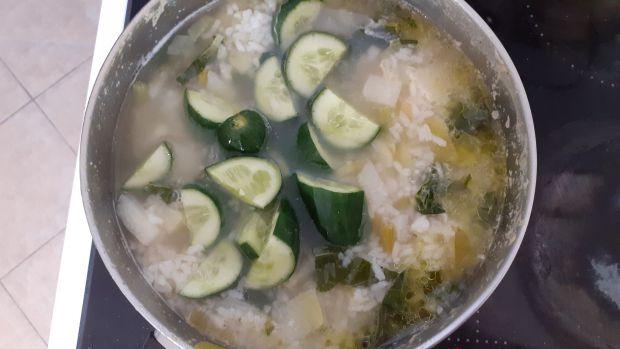 Zupa-krem z kalarepy