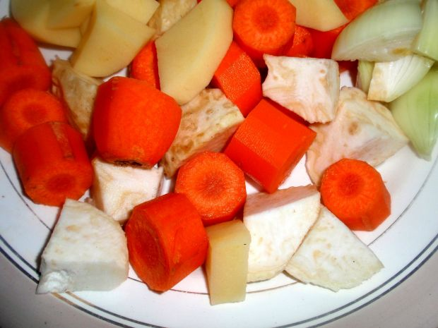 Zupa krem z kaszą jaglaną