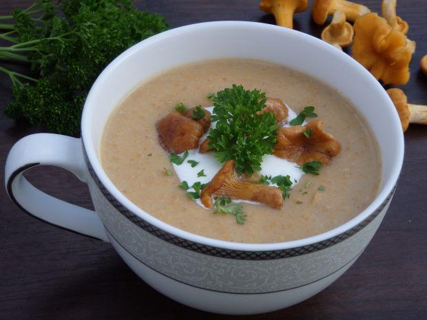Zupa krem z kurek