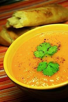 Zupa krem z marchewek