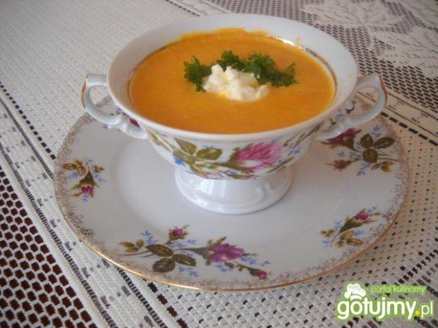 Zupa - krem z marchewki 3