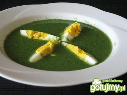 Zupa krem z pokrzyw
