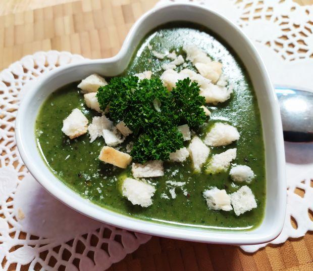 Zupa-krem z pokrzywy