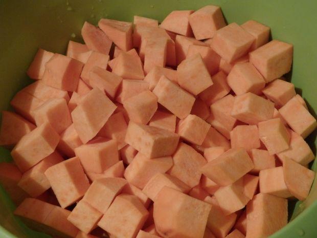 Zupa krem z pomarańczowych warzyw