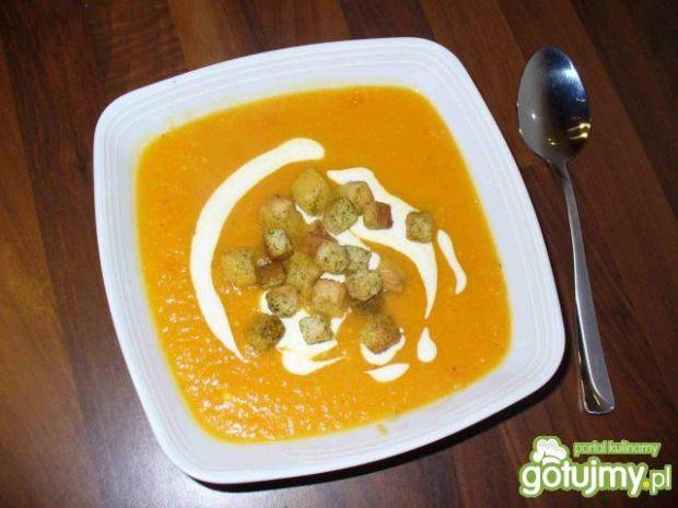 Zupa krem z pomarańczy