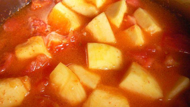 Zupa krem z pomidorów i dyni