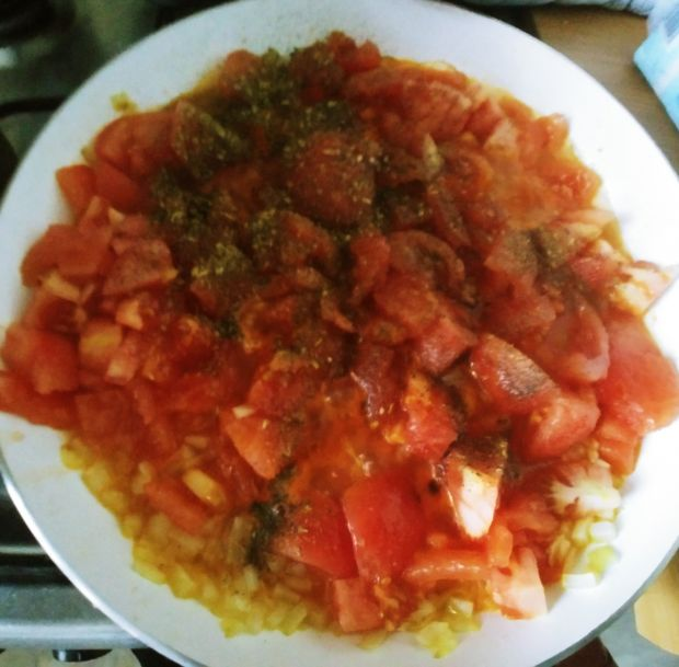Zupa-krem z pomidorów z parmezanem