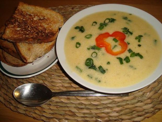 Zupa krem z porow
