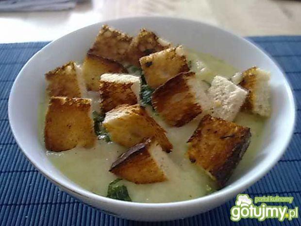 Zupa krem z porów i ziemniaków