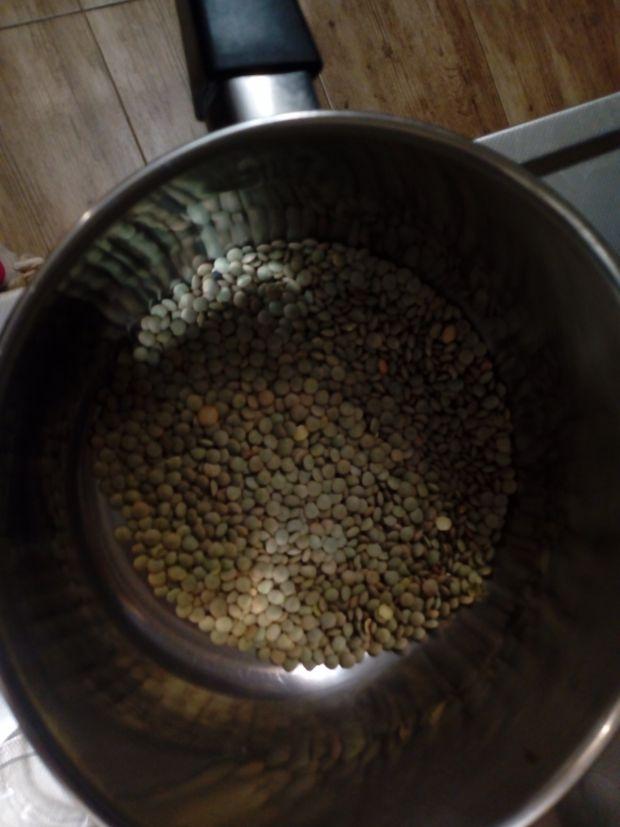 Zupa krem z soczewicy