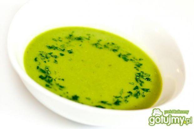 78fbc17bb43268 Zupa krem z zielonego groszku wg Magdy przepis - Gotujmy.pl