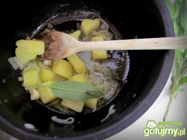 Zupa krem z zielonej  sałaty