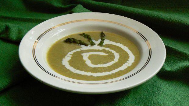 Przepis Zupa Krem Z Zielonych Szparagow Przepis Gotujmy Pl