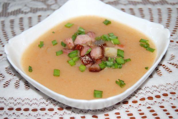 Zupa krem z ziemniaków z boczkiem