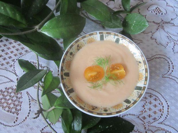 Zupa krem z żółtych pomidorów