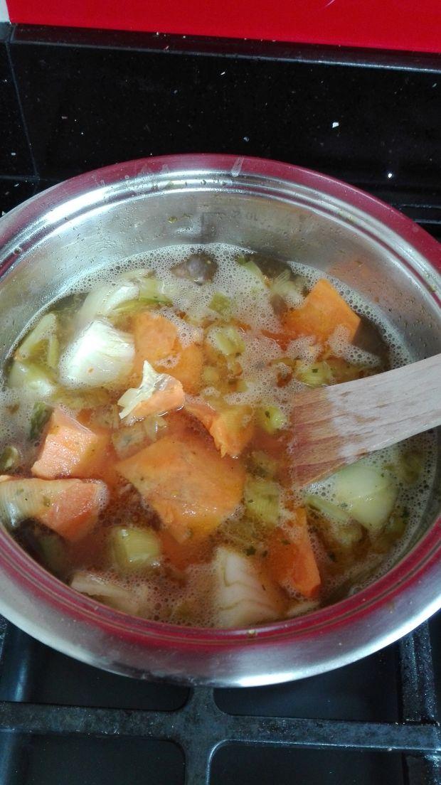 Zupa - krem ze słodkich ziemniaków