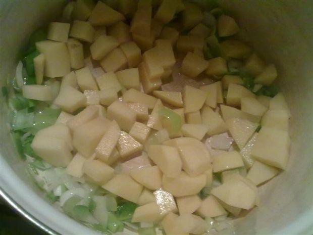 Zupa krem ziemniaczano-dyniowy