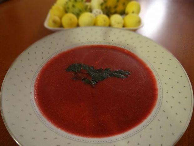 Zupa kremowa z buraków wg Megg