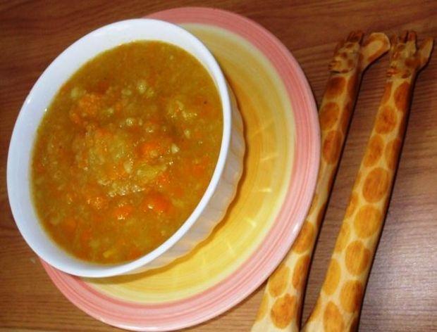 Zupa marchwiowo-dyniowa