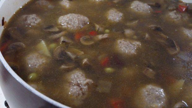 Zupa meksykańska z klopsikami