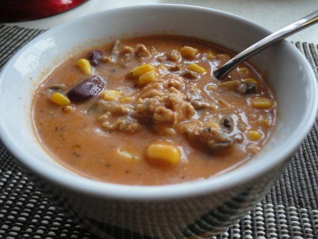 Zupa meksykańska z mielonym