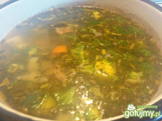 Zupa na zielono