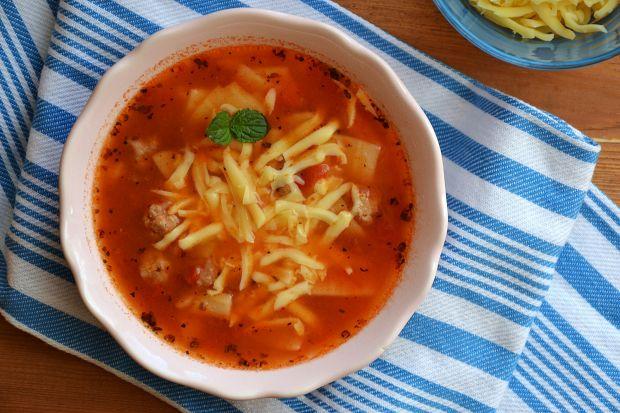 Zupa o smaku lazanii