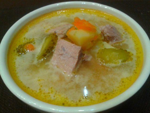 Zupa ogórkowa babci Stasi
