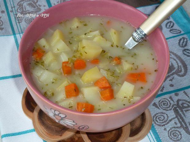 Zupa ogórkowa (bezmięsna)