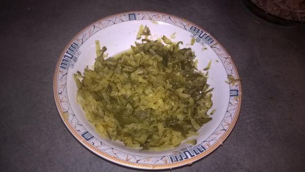 Zupa ogórkowa z papryką