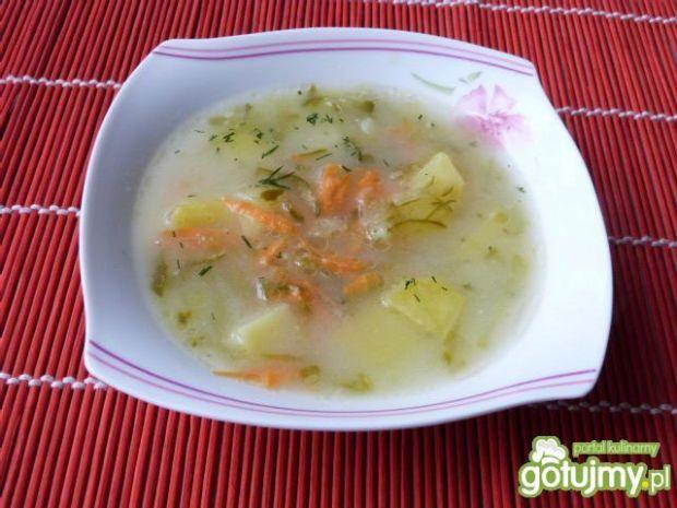 Zupa ogórkowa z ziemniakami 5