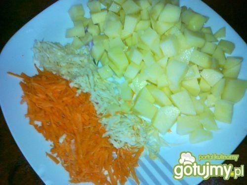 Zupa ogórkowa z ziemniakami wg Konczi