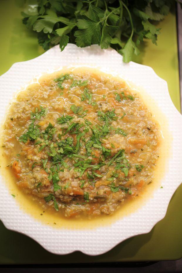 Zupa ostro doprawiona