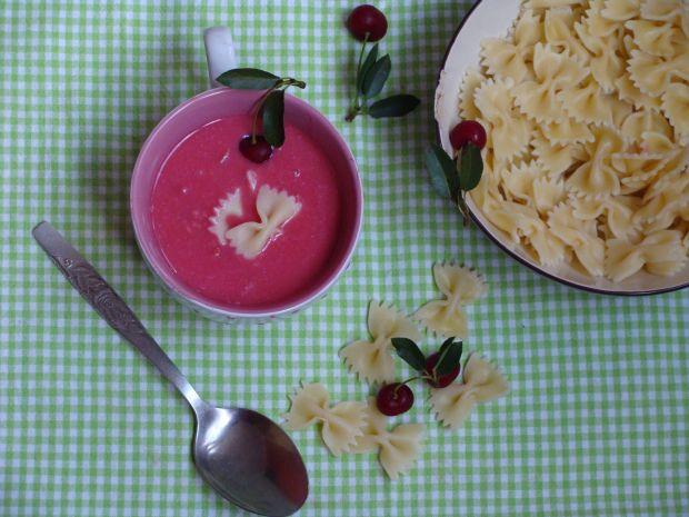 Zupa owocowa wiśniowa