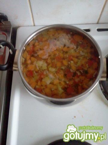 Zupa paprykowo-jarzynowa