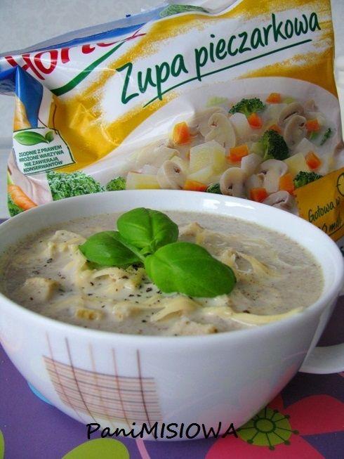 Zupa pieczarkowa po parysku