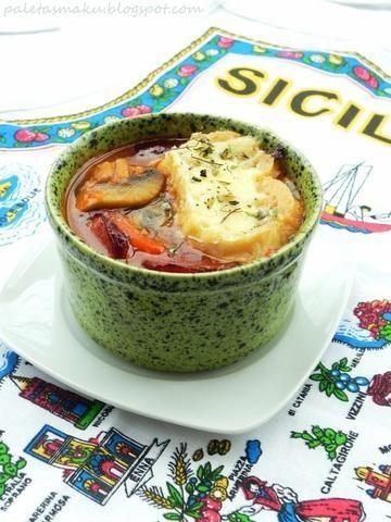 Zupa pomidorowa inspirowana Italią