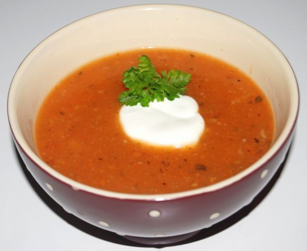 Zupa pomidorowa-krem