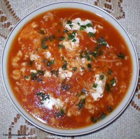 Zupa pomidorowa najprostsza dla Dagmarki
