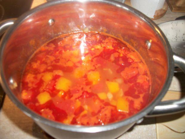 Zupa pomidorowa z dynią