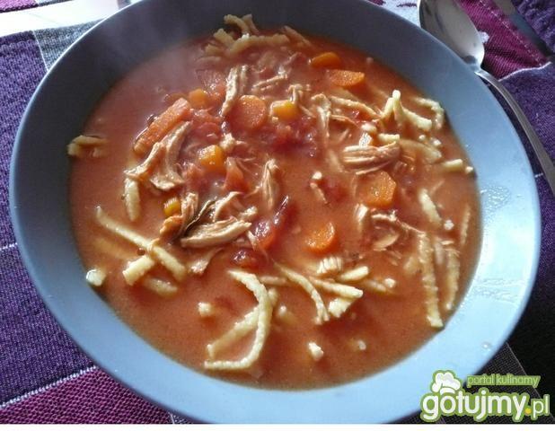 Zupa pomidorowa z prawdziwych pomidorów