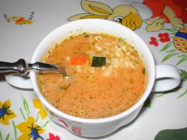 Zupa Pomidorowa Z Ryzem Przepis Gotujmypl