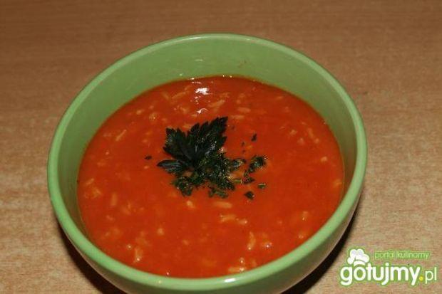 Zupa pomidorowa z ryżem 4
