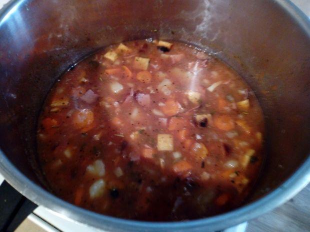 Zupa pomidorowa z ziemniakami