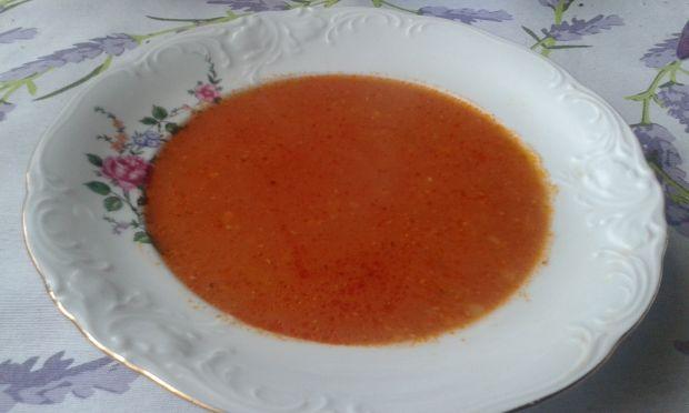 Zupa pomidorowo - marchewkowa