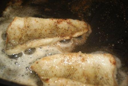 Zupa rybna ( z imbirem) i smażony antar