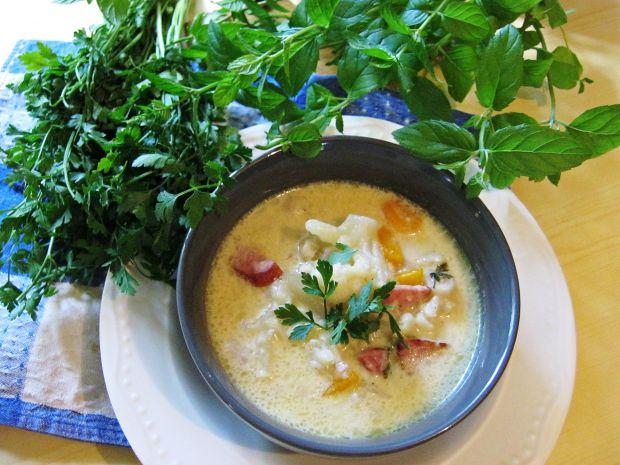 Zupa serowa - aromatyczna
