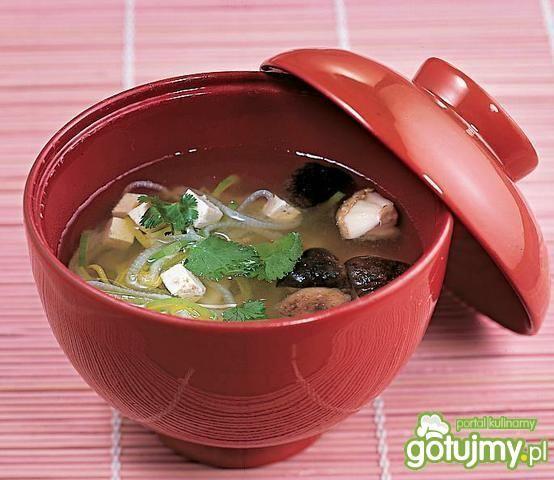Zupa sojowa z tofu