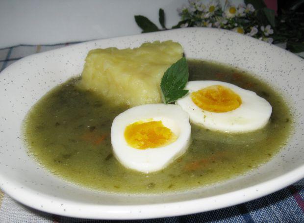 Zupa szczawiowa do ziemniaków