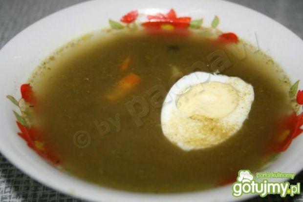 Zupa szczawiowa z przecieru